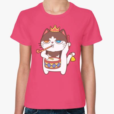 Женская футболка PARTY KING
