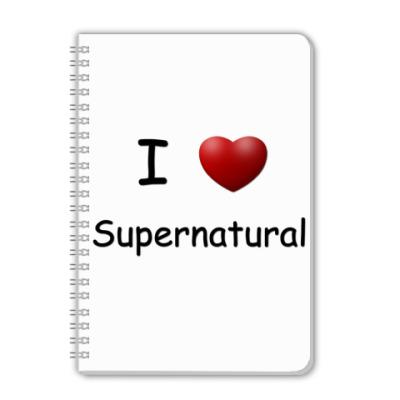 Тетрадь I Love Supernatural