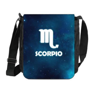 Сумка на плечо (мини-планшет) Знак зодиака. Скорпион