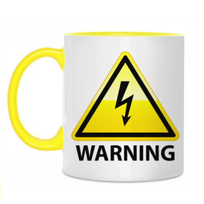Кружка Warning! High Voltage