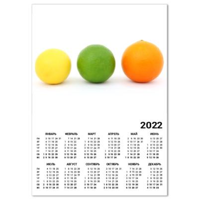 Календарь Цитрусы