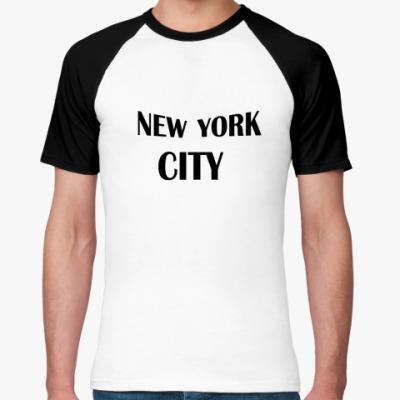 Футболка реглан NYC JOHN LENNON