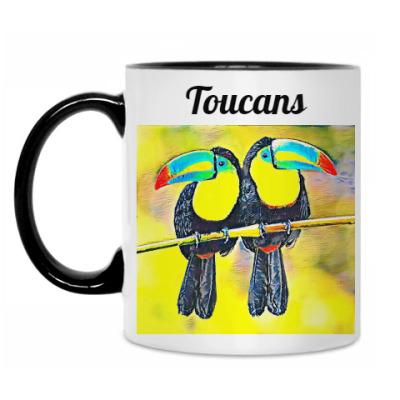 Кружка  Туканы