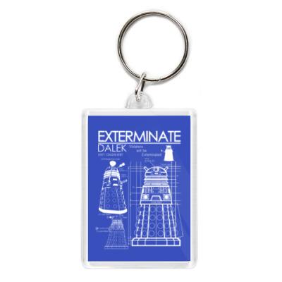Брелок Dalek plan