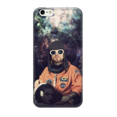 Чехол для iPhone 6/6s Kurt Cobain Astronaut