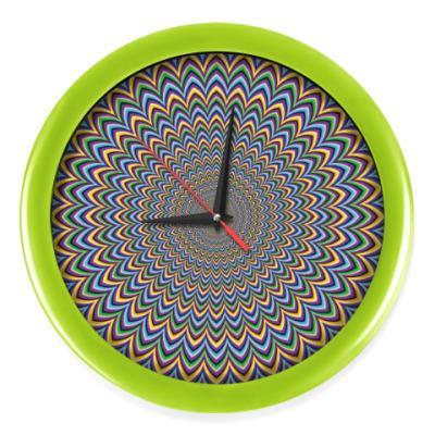 Настенные часы Optical Art