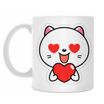 Кружка Love Cat