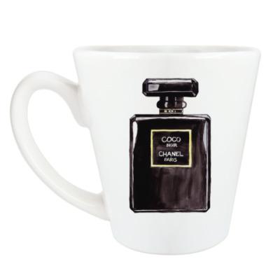Чашка Латте Coco Noir Chanel Perfume