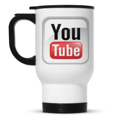 Кружка-термос YouTube
