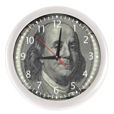 Настенные часы 1$$ Dollars