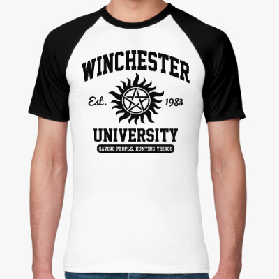 Футболка реглан Winchester University