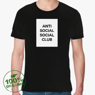 Футболка из органик-хлопка Антисоциальный социальный клуб