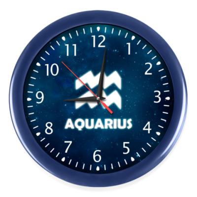 Настенные часы Знак зодиака. Водолей