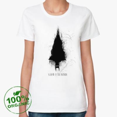 Женская футболка из органик-хлопка Герой-монстр