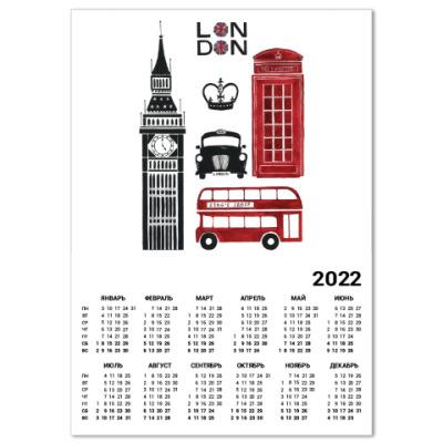 Календарь London