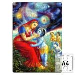 Кришна и Яшода