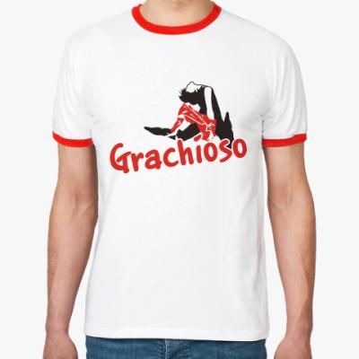Футболка Ringer-T   Grachioso