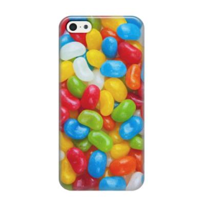 Чехол для iPhone 5/5s Леденцы