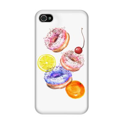 Чехол для iPhone 4/4s Сладкий сюрприз