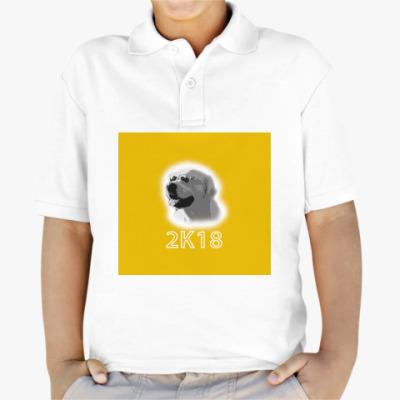 Детская рубашка поло Год собаки