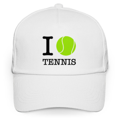 Кепка бейсболка I love tennis