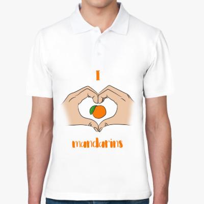 Рубашка поло Я люблю мандарины