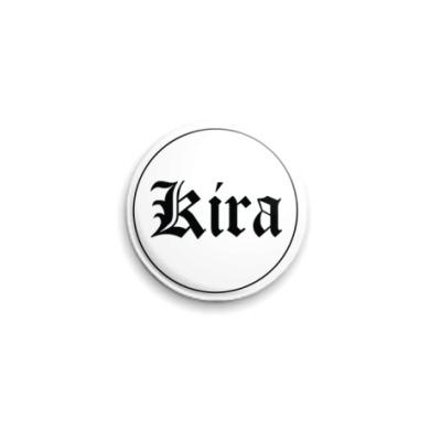 Значок 25мм  Kira Death Note