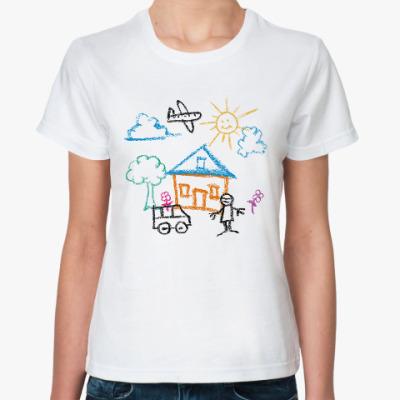 Классическая футболка Этот мир