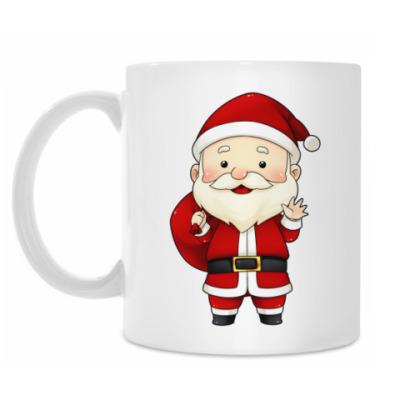 Кружка Cute Santa