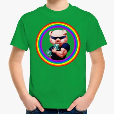 Детская футболка Iron Pig