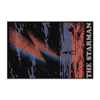 Наклейка (стикер) David Bowie Starman Дэвид Боуи
