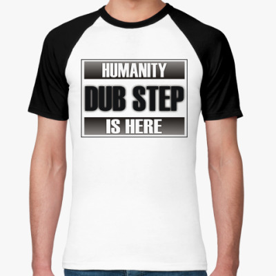 Футболка реглан Dub step