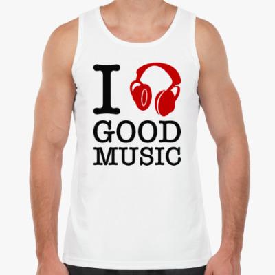 Майка I love good music