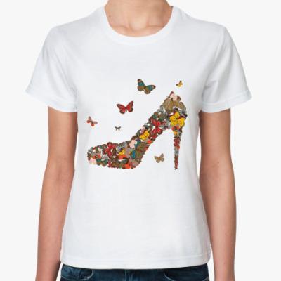 Классическая футболка  Туфля