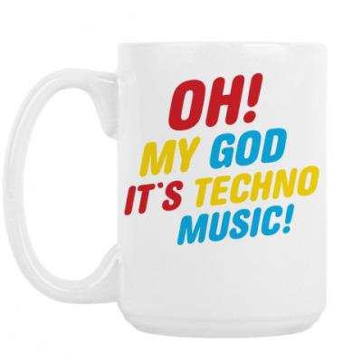 Кружка Техно музыка
