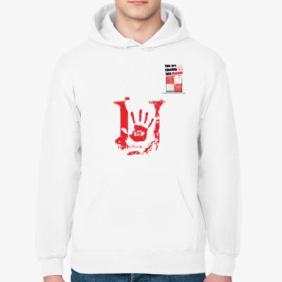 Толстовка худи Сигнальный флаг «U» (Uniform / Юниформ)