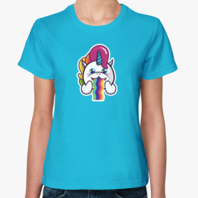 Женская футболка Funny Unicorn