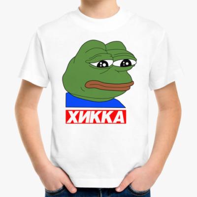 Детская футболка Хикка Пепе
