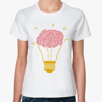 Классическая футболка   Лампочка