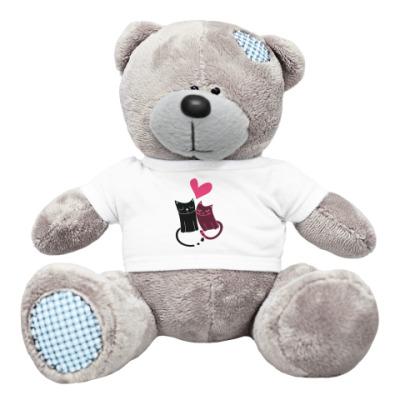 Плюшевый мишка Тедди Котики