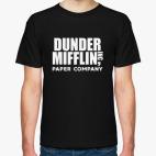 Классическая футболка Dunder Mifflin / The Office