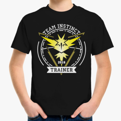 Детская футболка Покемоны. Team Instinct