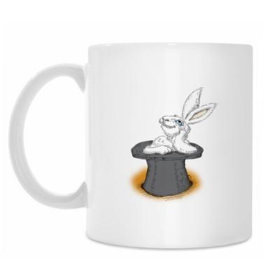 Кружка Кролик из шляпы