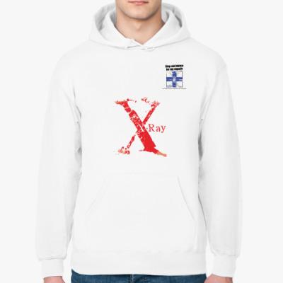 Толстовка худи Сигнальный флаг «X» (X-ray / Эксрэй)