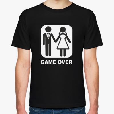 Футболка Свадьба GAME OVER
