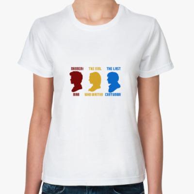 Классическая футболка Doctor Amy Rory