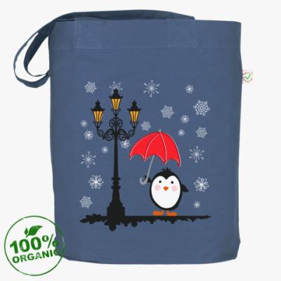 Сумка Пингвин в снегу