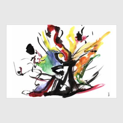 Постер Постер «ПРОБУЖДЕНИЕ ТАНЦА»