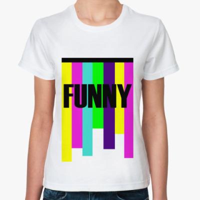 Классическая футболка funny