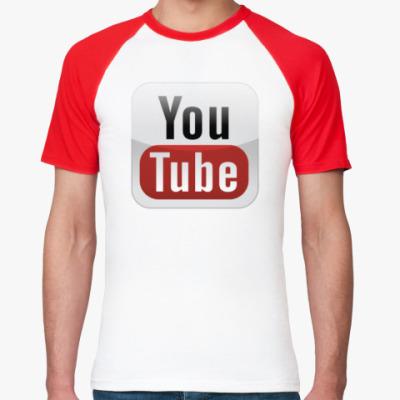 Футболка реглан YouTube